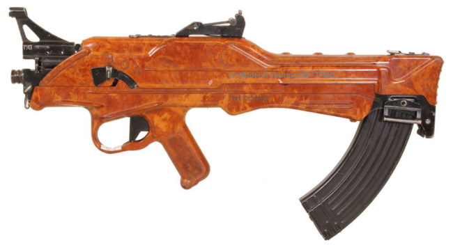 Korobov TKB-022PM experimental assault rifle, from the collection of the Tula State Museum of Weapons