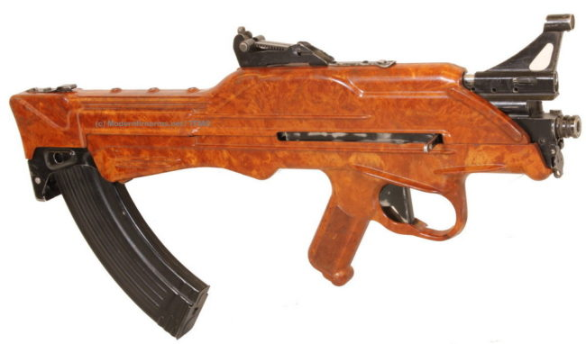 Korobov TKB-022PM experimental assault rifle