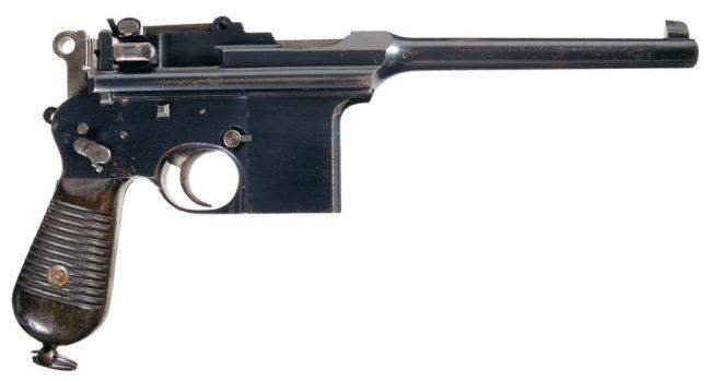 Астра modelo F  automatic pistol