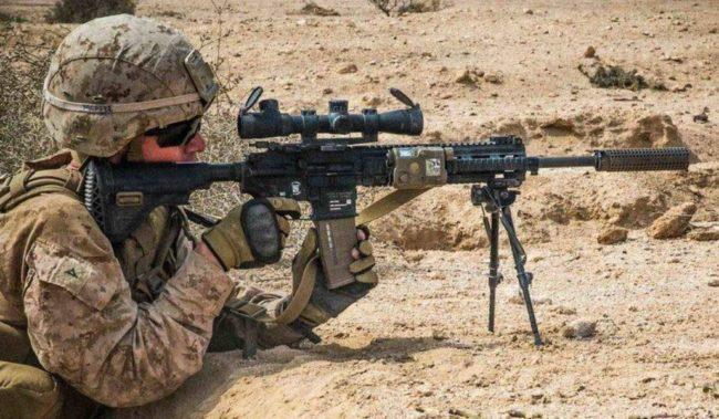 Снайперская винтовка M38 SDMR
