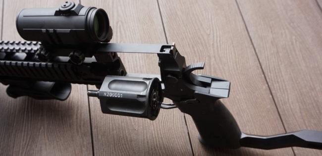 MTs-570 9mm revolver carbine